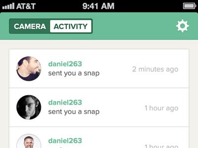 Snapchat Activity