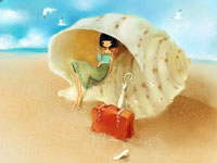 Романтические картинки от корейского иллюстратора Mizzi