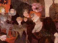 Развлечения и быт парижской богемы от художника Анри де Тулуз-Лотрек