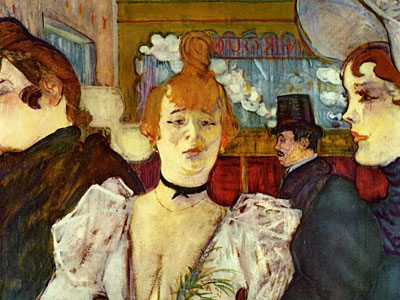 Перейти на La Goulue Arriving At The Moulin Rouge With Two Women, 1892