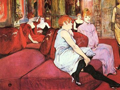 Перейти на The Salon De La Rue Des Moulins, 1894