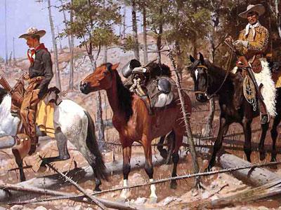 Перейти на Prospecting For Cattle Range, 1889