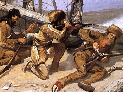 Перейти на A Brush With The Redskins, 1891