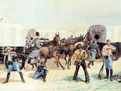 Перейти на Attack On The Supply Train, 1885