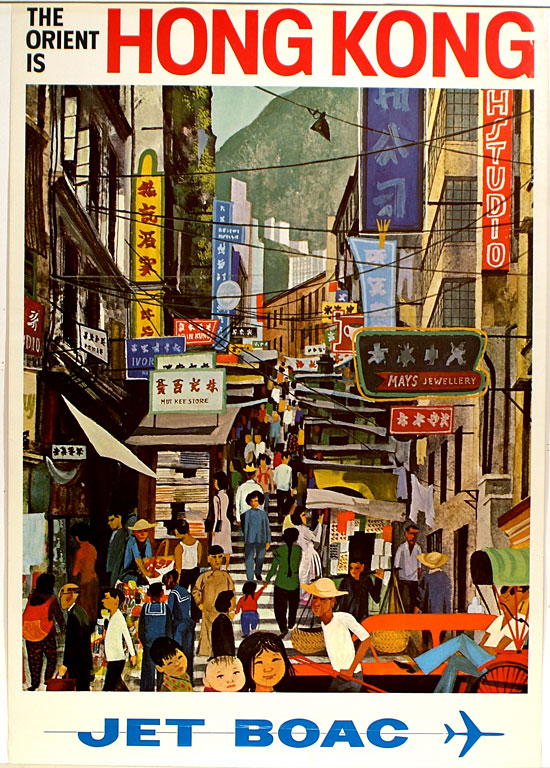 The Orient Is Hong Kong, Jet Boac
