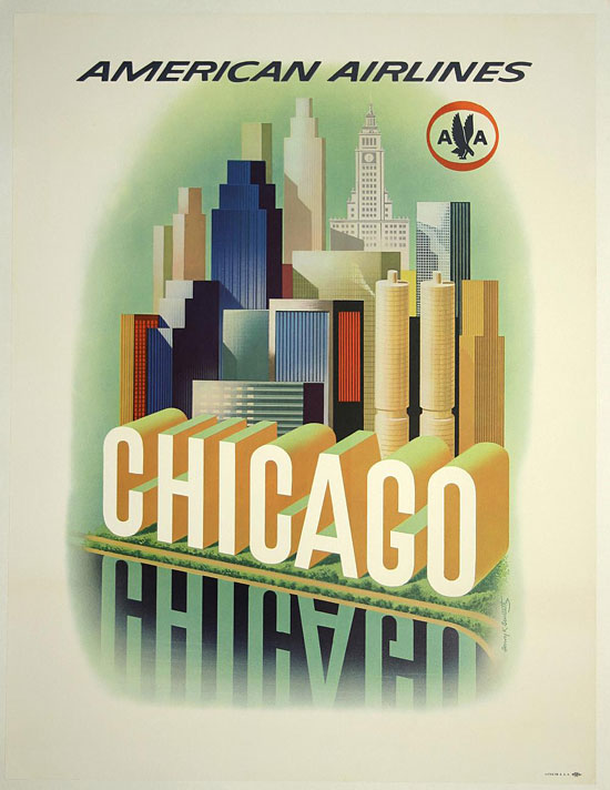 Chicago, American Airlines