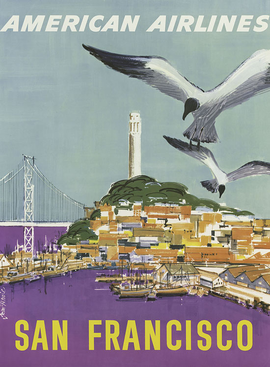 San Francisco, American Airlines