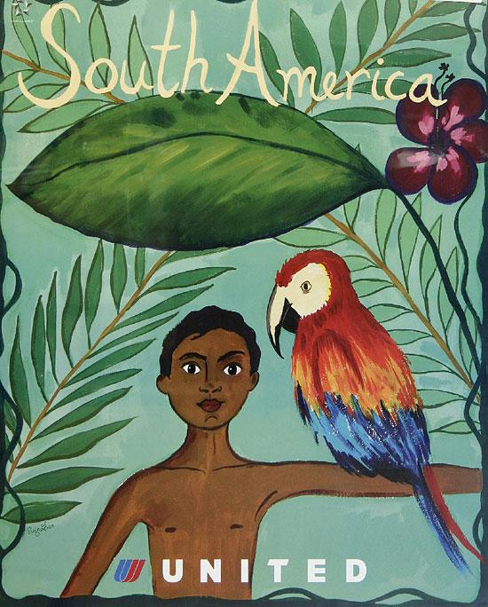 South America United