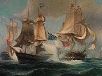 Корабли и море в творчестве художника Иоанниса Алтамураса