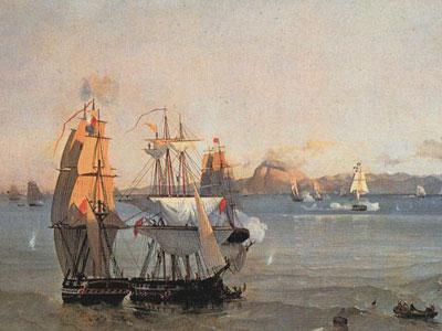 Перейти на Sea Battle at the Bay of Patrae