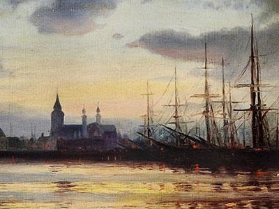 Перейти на Evening in the Harbour