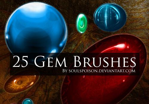 Скачать 25 Gem Brushes