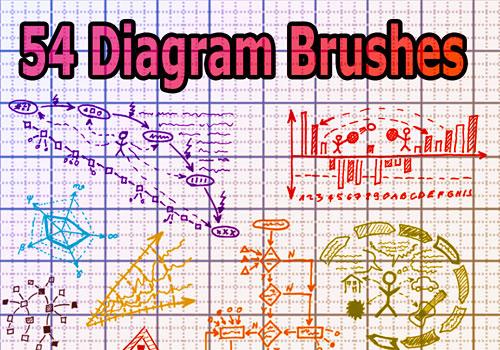 Скачать 54 Diagram Brushes