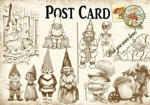 Скачать Postcard from a gnome!