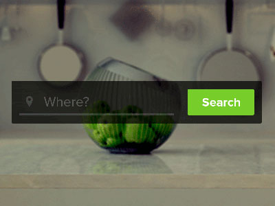 Search input