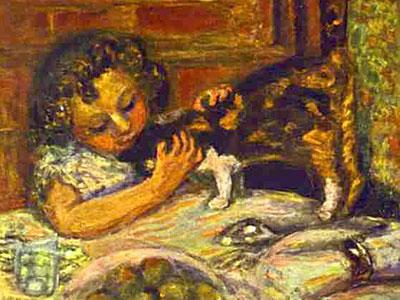 Перейти на Little Girl With A Cat, 1899
