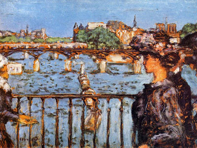 Перейти на The Pont Des Arts, 1905