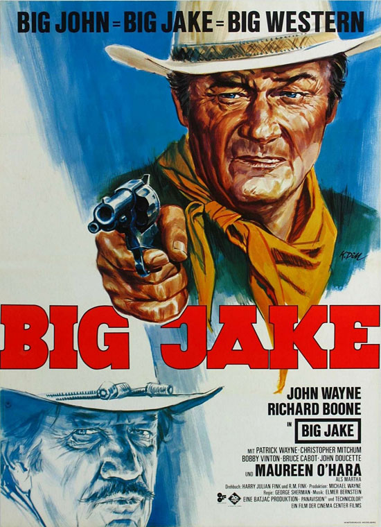Big Jake John Wayne Richard Boone