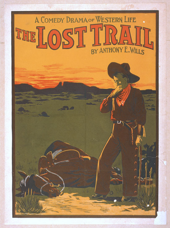 The Lost Trail Comedy Drama Of Western