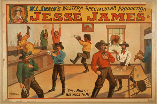 Jesse James Wi Swains Western