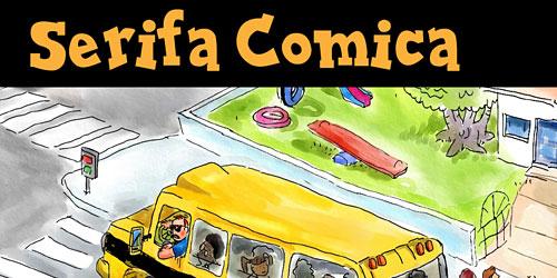 Перейти на Serifa Comica