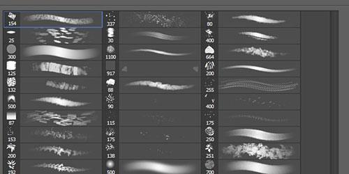 Перейти на Free Photoshop enviro brush set