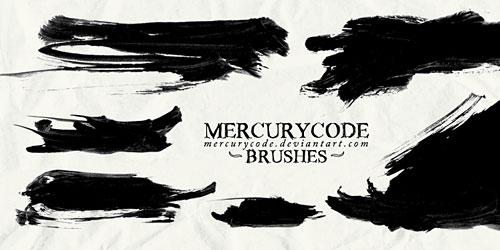 Перейти на Brushset 08: paint strokes