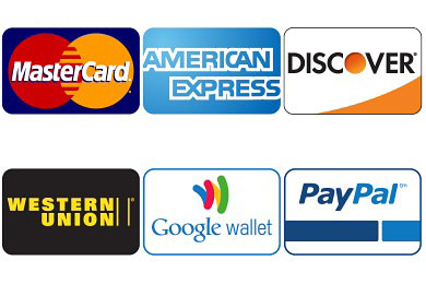 Перейти на Credit Card Payment Icons