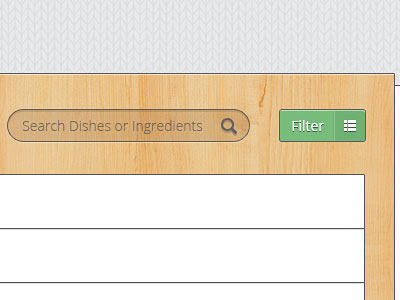 Recipe Search Box