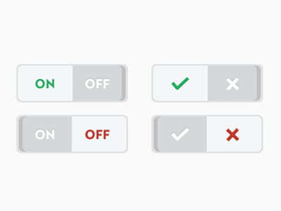 Flat Ui Switches