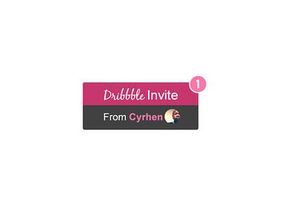 Dribbble Invite X