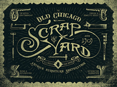 Old Chicago Scrapyard