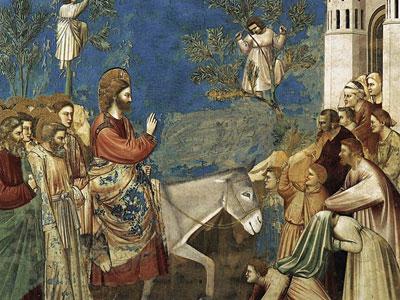 Перейти на The Entry into Jerusalem