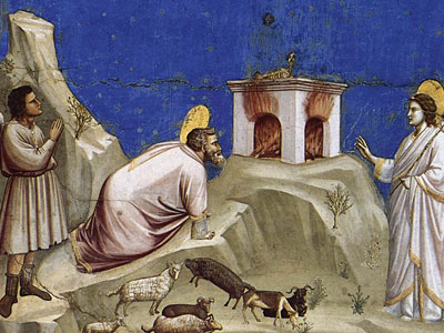 Перейти на Joachim's Sacrificial Offering