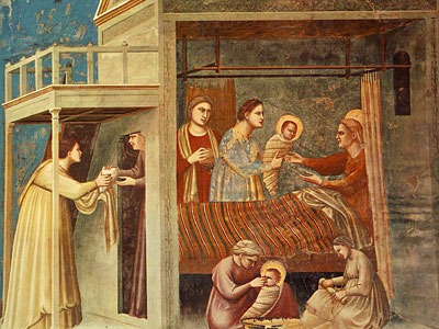 Перейти на The Birth of the Virgin