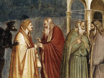 Перейти на Judas Receiving Payment