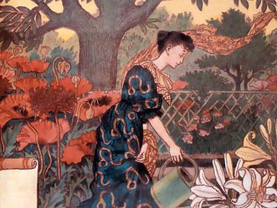 Перейти на La Belle Jardiniere – July