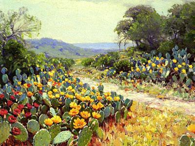 Перейти на Cactus In Bloom, 1915