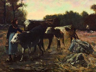 Перейти на Landscape With Cattle, 1910