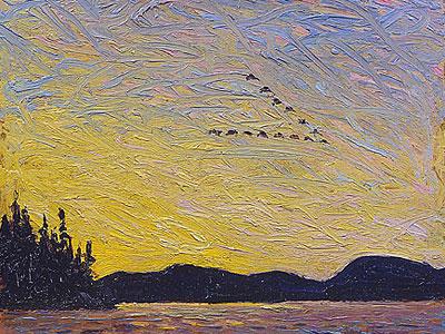 Перейти на Round Lake Mud Bay, 1915