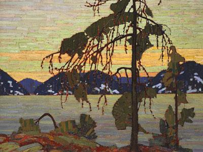 Перейти на The Jack Pine, 1917