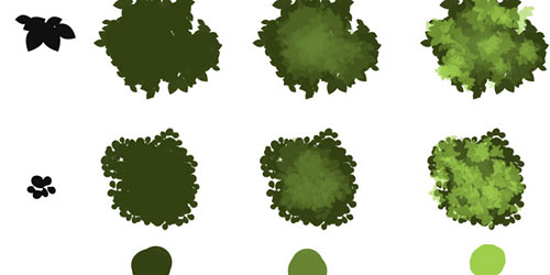Перейти на Tree Brushes Tutorial And Downloadable Brushes