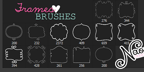 Перейти на Frames Brushes