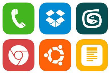 Перейти на Ios7 Style Metro Ui Icons