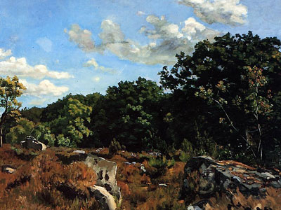 Перейти на Landscape at Chailly