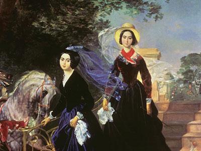 Перейти на Портрет сестёр Шишмарёвых