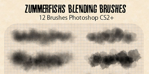 Перейти на Zummerfish S Blending Brushes