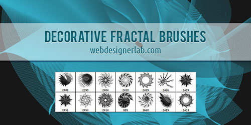 Перейти на Decorative Fractal Brushes