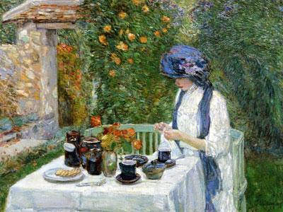 Перейти на The Terre Cuite Tea Set Aka French Tea Garden