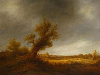 Перейти на Landscape With An Old Oak